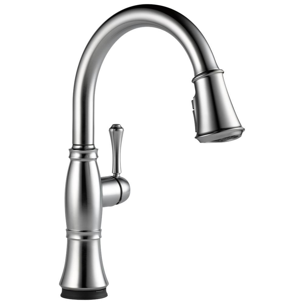 Delta Faucet Arctic Stainless | The Somerville Bath & Kitchen Store ...