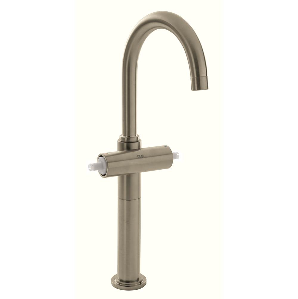 Grohe   21046ENA   Atrio 2 Handle Single Hole High Arc Vessel Bathroom  FaucetGrohe 21046ENA at The Somerville Bath   Kitchen Store Showrooms in  . Decorative Bathroom Faucets. Home Design Ideas