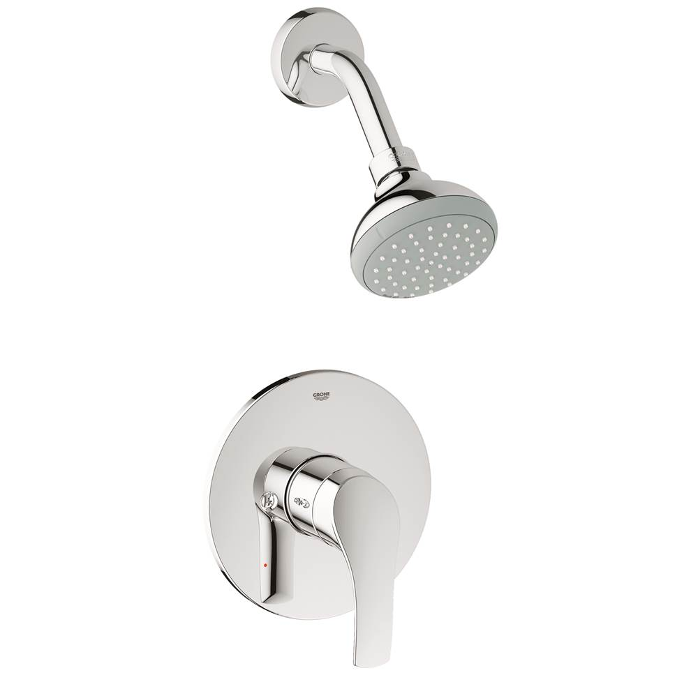 Grohe Bathroom Showers Shower Only Faucets With Head | The ...