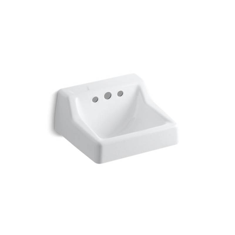 Bathroom Sink 19 X 17 sinks bathroom sinks wall mount | the somerville bath & kitchen