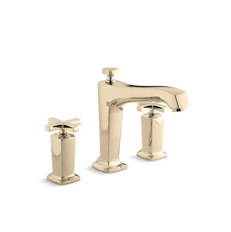 Bathroom Faucets In Gold Tone faucets tub fillers gold tones | the somerville bath & kitchen