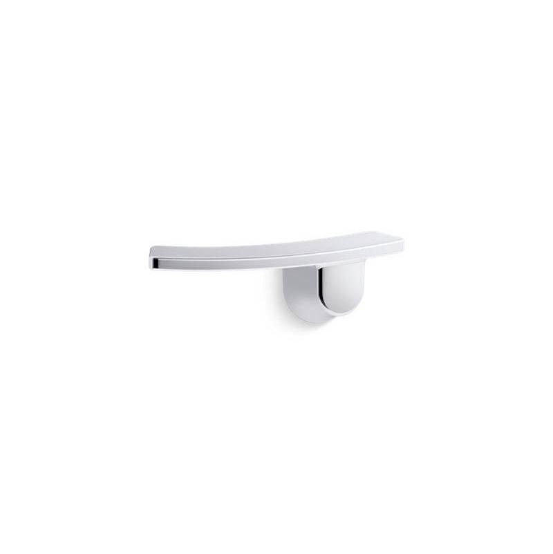 Kohler K-75891-PC1 Note Trip Lever Polished Brushed Chrome Accent