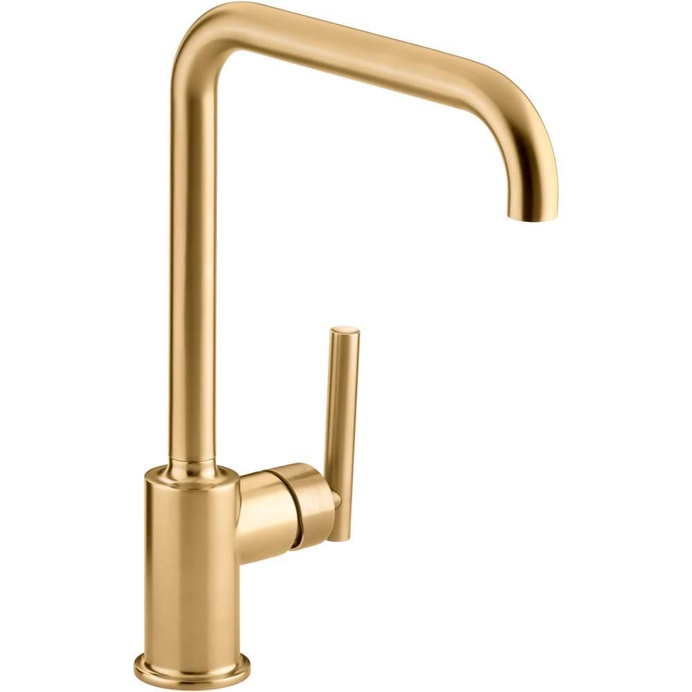 Kohler Kitchen Faucets Purist Brass Tones The Somerville Bath Kitchen Store Maryland Pennsylvania Virginia