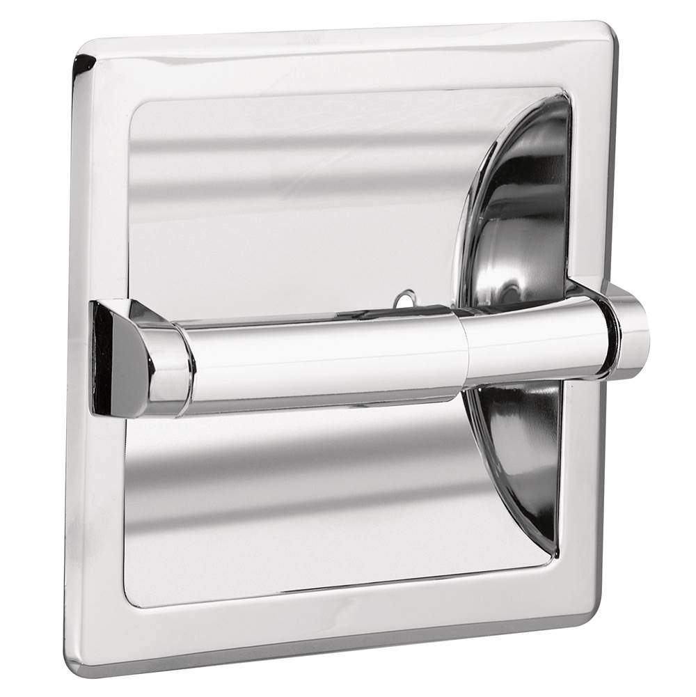 moen 2575 commercial recessed paper holder ch