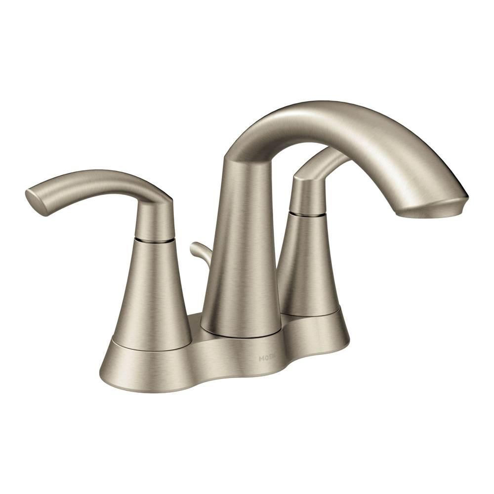 Moen Faucets Glyde Nickel Tones   The Somerville Bath & Kitchen ...
