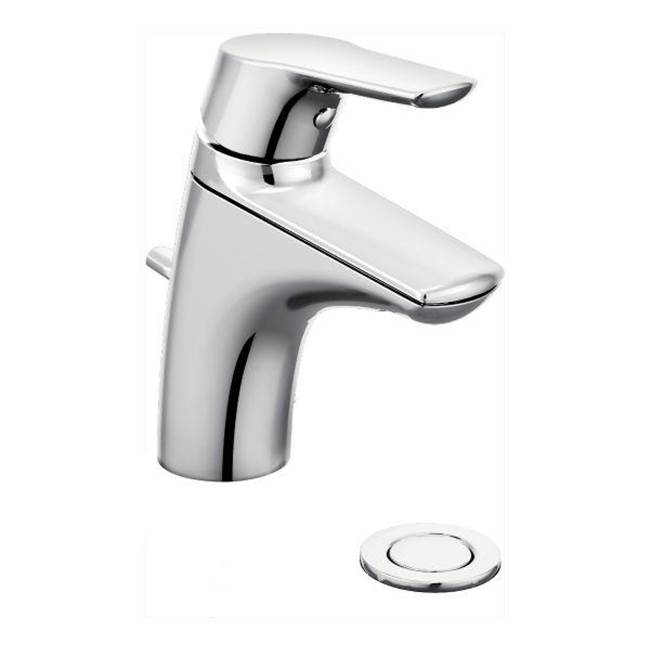 4 in. Centerset Non Metallic 2 Handle Bathroom Faucet in Chrome homedepot.com p 4 in Centerset2Bathroom Faucet 303679874