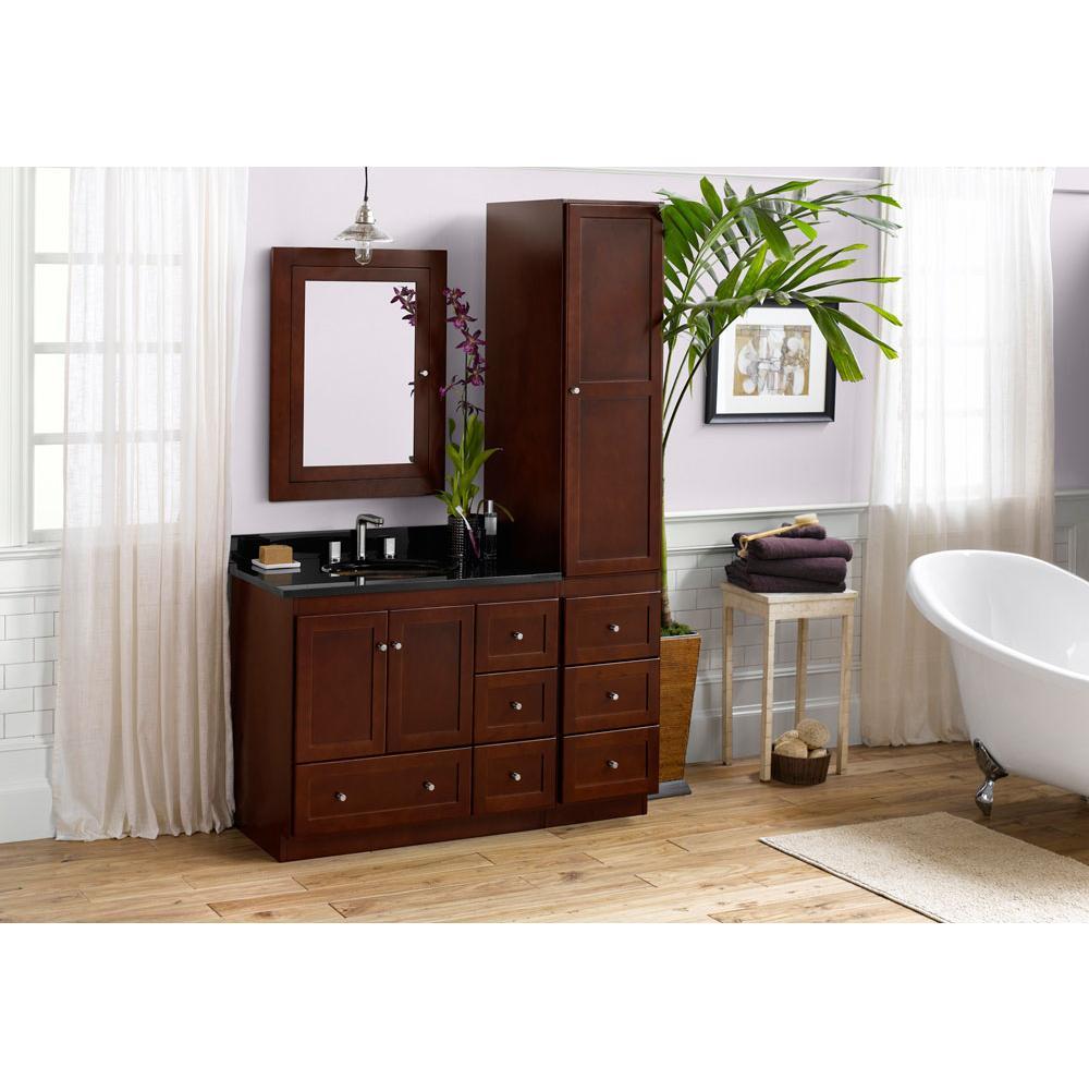 1 299 00 081936 3r W01 Ronbow 36 Shaker Bathroom Vanity Cabinet