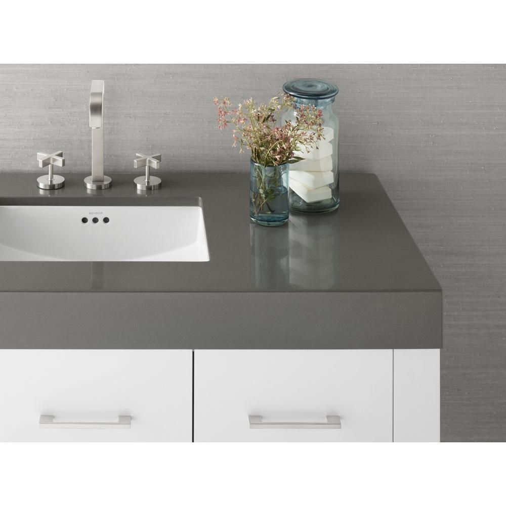 Ronbow 364449 8 Q30 48 X 22 Techstone Wideeal Vanity Top In Stone Gray 4 Thick